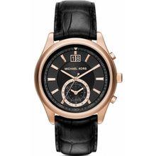 Men's Michael Kors Aiden Black Chronograph Watch MK8460