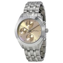 Marc Jacobs MBM3370 Womens Gold Dial Analog Quartz Watch
