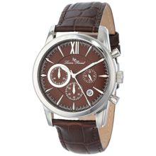 Lucien Piccard LP-12356-04 Mens Brown Dial Analog Quartz Watch