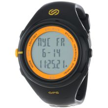Soleus SG003020 Mens Grey Dial Digital Quartz Watch with Resin Strap