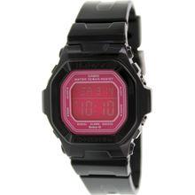 Casio BG5601-1 Womens Pink Dial Digital Quartz Watch with Resin Strap