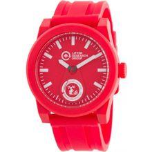 Lrg WVOP184803-RE24 Unisex Red Dial Analog Quartz Watch