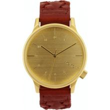 Komono KOM-W2030 Mens Gold Dial Analog Quartz Watch