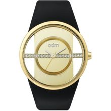 Odm DD151C-06 Womens Gold Dial Analog Quartz Watch