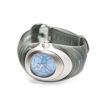 Nike WW0004-001 Womens Blue Dial Quartz Watch with Rubber Strap