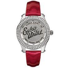 Marc Ecko E10038M4 Midsize Rollie Silver Red Watch