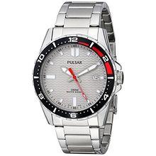 Pulsar PS9103 Men's Grey Dial Watch