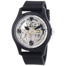 Men's Black Toywatch Toy2Fly Skeleton Automatic Watch TTFS13BKSL