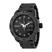 Diesel DZ4221 Mens Black Dial Analog Quartz Watch with Ceramic Strap