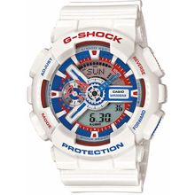 Casio GA110TR-7A Mens G-Shock White Analog & Digital Watch