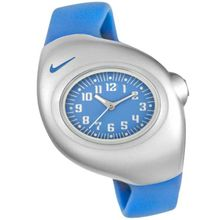 Nike WR0033-411 Womens Blue Dial Quartz Watch with Plastic Strap