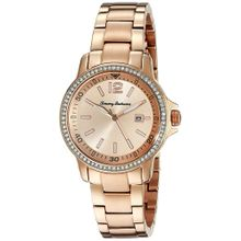 Tommy Bahama 10018327 Womens Rose Gold Dial Analog Quartz Watch