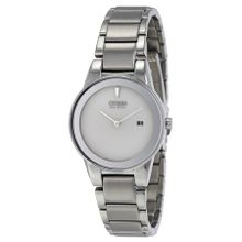 Citizen GA1050-51A Womens Silver Dial Analog Quartz Watch