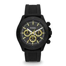 Fossil CH2870 Analog Quartz Watch with Silicone Strap
