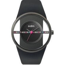 Odm DD151C-04 Womens Black Dial Analog Quartz Watch