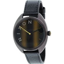 Nixon A3181073-00 Womens Brown Dial Quartz Watch with Leather Strap
