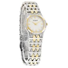 Wittnauer 12R05 Womens Savoy Diamond Two Tone Bracelet Swiss Quartz Watch