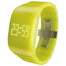 Odm DD133-07 Unisex Yellow Dial Digital LED Watch