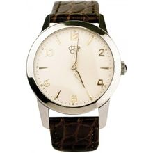 Cheapo 14226DD Unisex White Dial Analog Quartz Watch