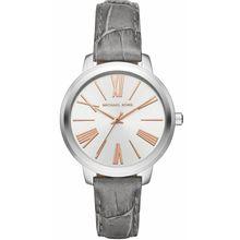 Women's Michael Kors Hartman Leather Strap Watch MK2479
