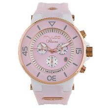 Mulco MW3-11009-083 Mens Pink Dial Quartz Watch with Silicone Strap