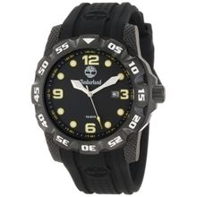 Timberland 13317JSB_02 Mens Black Dial Analog Quartz Watch with Plastic Strap