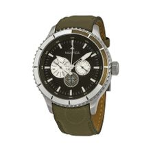 Nautica N18660G Mens Brown Dial Analog Quartz Watch