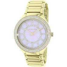 Michael Kors MK3396 Womens Pink Mop Dial Analog Quartz Watch
