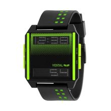 Vestal DIG034 Unisex Black Dial Digital Quartz Watch