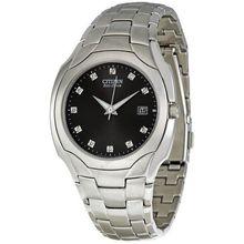 Citizen Eco-Drive BM6010-55G Mens Black Dial Analog Quartz Watch