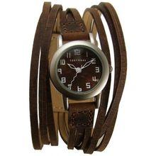 Tokyobay T432-BR Womens Brown Dial Analog Quartz Watch