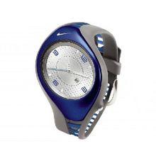 Nike Triax Swift 3h Analog Watch - Medium Grey/Blue Sapphire - WR0093-015