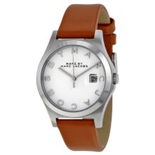 Marc By Marc Jacobs MBM1356 Womens White Dial Analog Quartz Watch