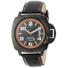 Izod IZS10/1 Black Orange Womens Black Dial Analog Quartz Watch