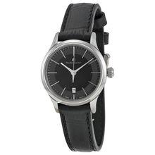 Maurice Lacroix LC1113-SS001-330 Womens Black Dial Analog Quartz Watch