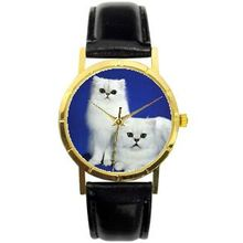 Novelty 002-PC Womens Blue Dial Quartz Quartz Watch with Leather Strap