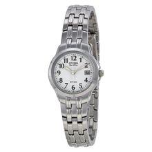 Citizen EW1540-54A Womens Silver Dial Analog Quartz Watch