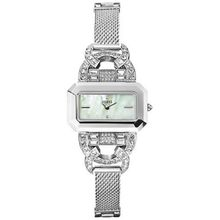 Guess U12641L1 Womens Mop Dial Quartz Watch with Stainless Steel Strap