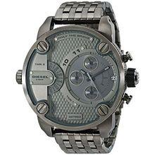 Diesel DZ7263 Mens Grey Dial Quartz Watch with Stainless Steel Strap