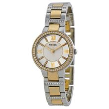 Fossil ES3503 Womens Silver Dial Analog Quartz Watch with Stainless Steel Strap