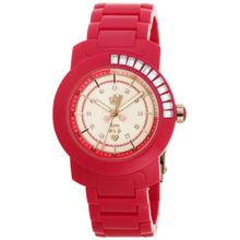 Juicy Couture 1900652 Womens Silver Dial Analog Quartz Watch with Plastic Strap