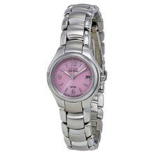 Citizen EW1170-51X Womens Pink Dial Analog Quartz Watch