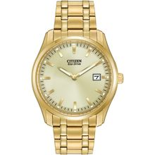 Citizen AU1042-53P Mens Champagne Dial Analog Watch with Stainless Steel Strap