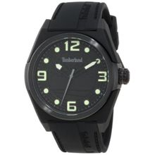 Timberland 13328JPB_02A Womens Black Dial Quartz Watch with Silicone Strap