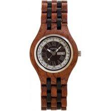 Tense B4600RD Mens Two-Tone Dial Analog Quartz Watch