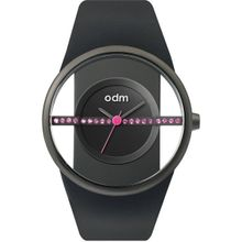 Odm DD151C-01 Womens Black Dial Analog Quartz Watch