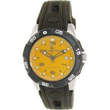 Freestyle 10019189 Mens Brown Dial Analog Quartz Watch with Plastic Strap