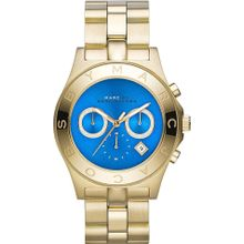 Marc Jacobs MBM3307 Blue Dial Analog Quartz Watch with Stainless Steel Strap