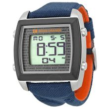 Hugo Boss 1512607 Mens Digital Dial Digital Quartz Watch with Fabric Strap