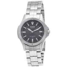 Casio #MTP1214A-8AV Men's Metal Fashion Grey Dial Casual Analog Watch